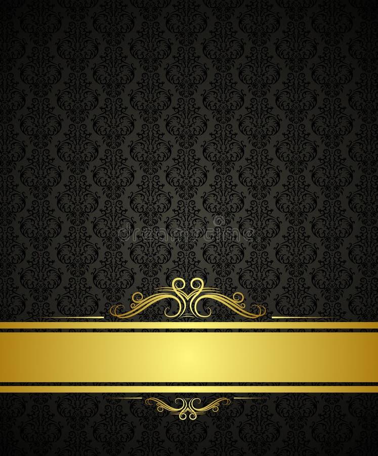 Download Black Background Design Stock Vector Image Of Dark Template
