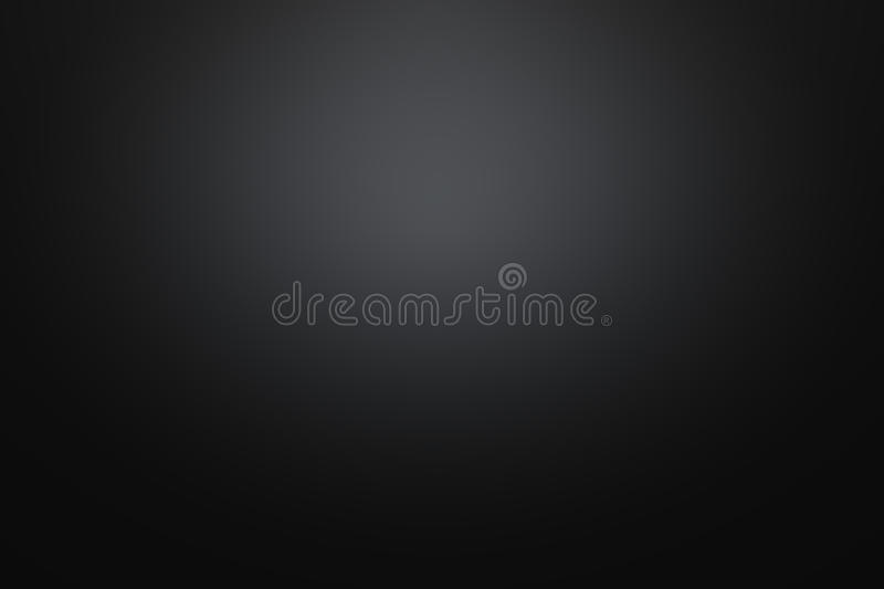 Black background with gradient light royalty free stock image