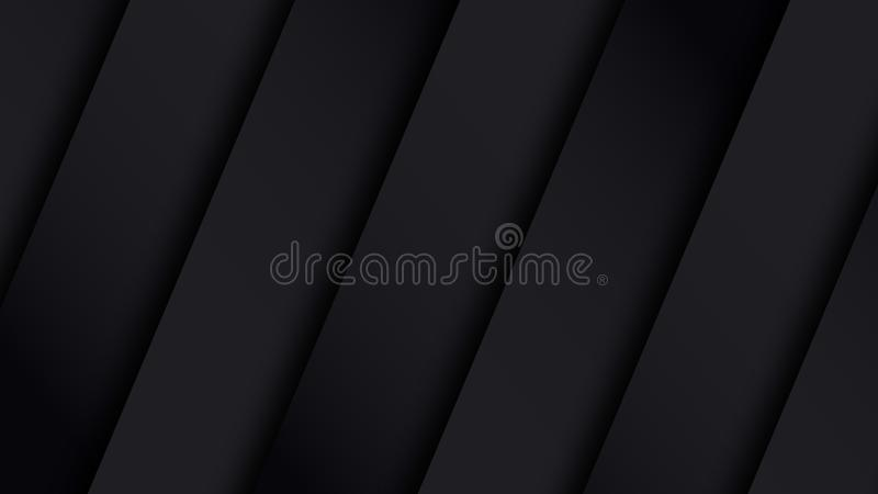 Black background metal striped pattern stock images