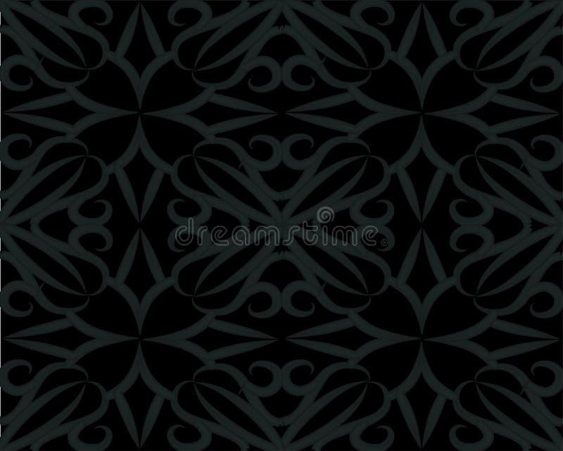 Black background overlap dimension grey vector illustration vector illustration