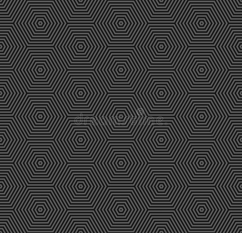 Black background. Or pattern seamless stock illustration
