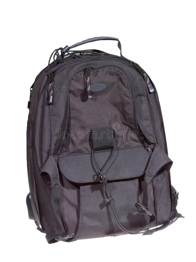 Download Black backpack stock image. Image of protect, handle - 11877585
