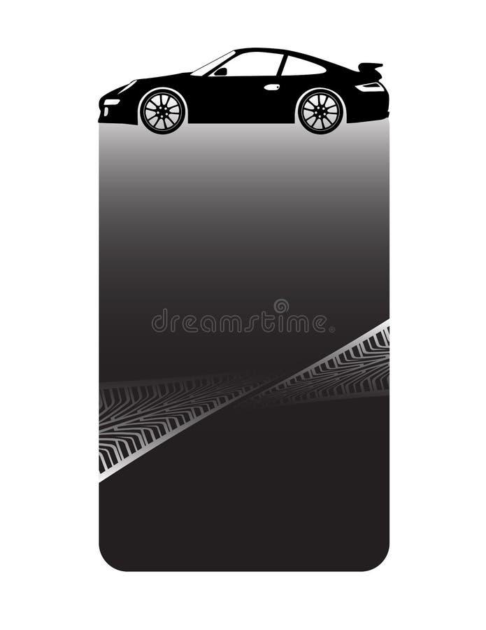 Black banner stock illustration