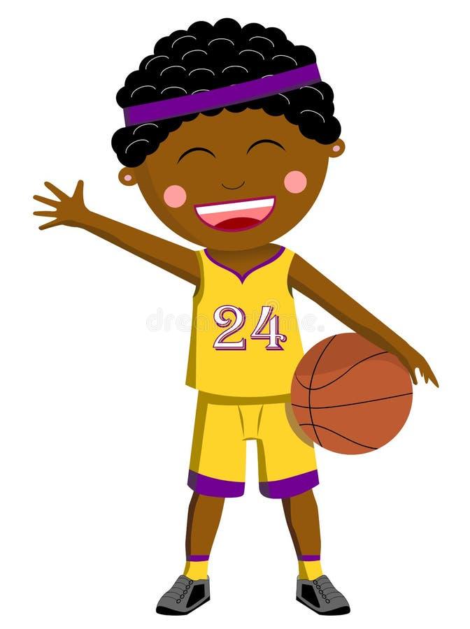 Black Basketball Kid