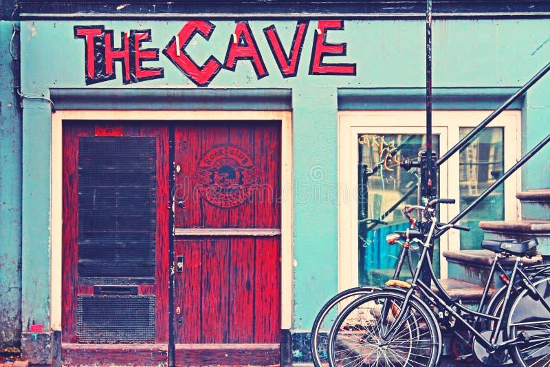 Black Beach Cruiser Bike Beside The Red Wooden Door Outside Free Public Domain Cc0 Image