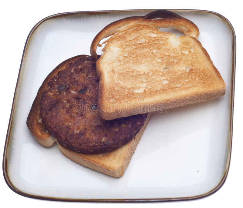 Download Black Bean Burger Vegetarian Vegan Sandwich Stock Photo - Image: 18144312