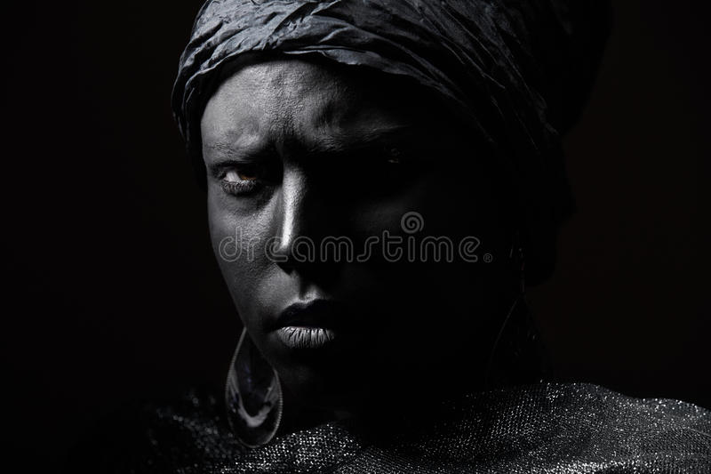 Black beauty royalty free stock images