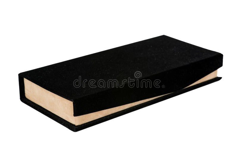 Download Black And Beige Velvet Gift Box Stock Photo - Image: 10455760
