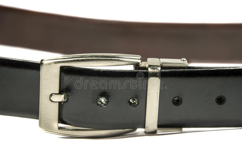 Download Black Belt Clasp and Lock stock photo. Image of chrome - 32060568