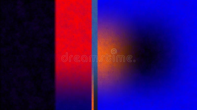 Black blue color red color orange color blurred shaded background wallpaper. vivid color vector illustration. royalty free illustration