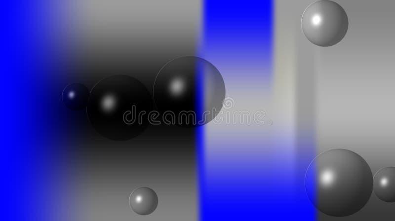 Black blue grey color bubbles textured blurred shaded background wallpaper. vivid color vector illustration. vector illustration