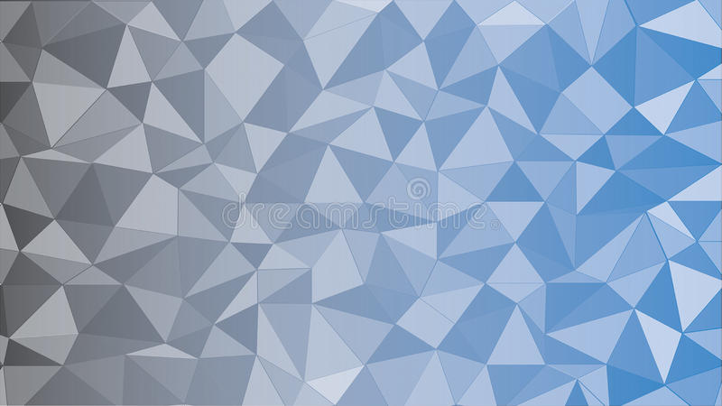 Black Blue Triangle royalty free stock images