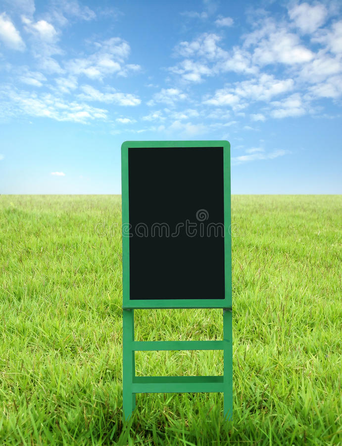 Black board royalty free stock image