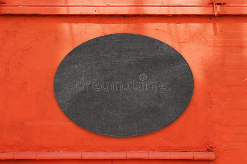 Black board cafe menu board. Empty black board cafe menu board stock photo