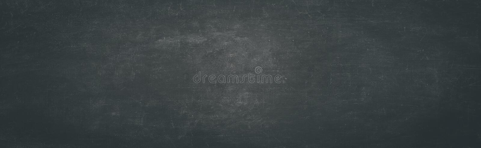 Black board or chalk empty boards background royalty free stock photography