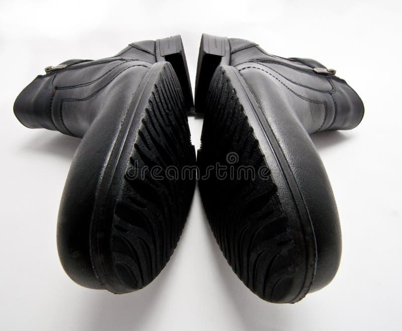 Download Black boots stock photo. Image of black, closeup, shoe - 22989404