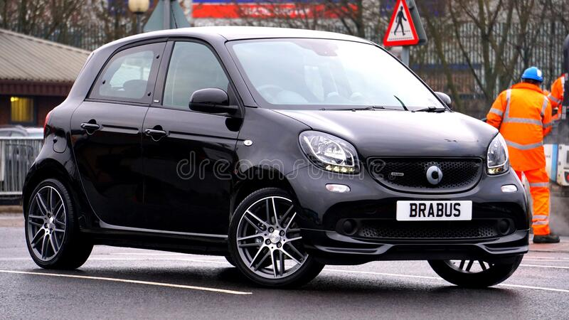 Black Brabus On Streets Free Public Domain Cc0 Image