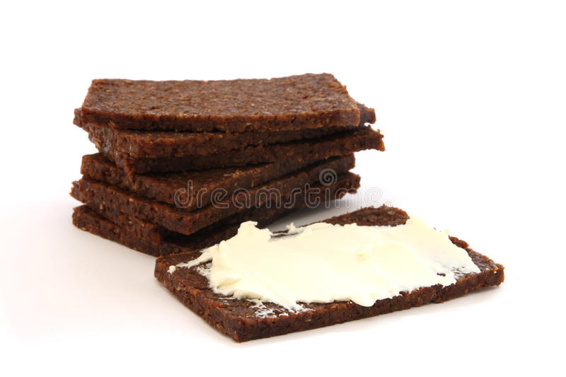 Black Bread Stock Photography