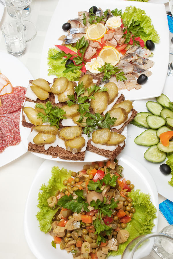 Download Black Bread Sandwiches With Lard And Cucumbers Stock Image - Image of delicious, food: 11690099
