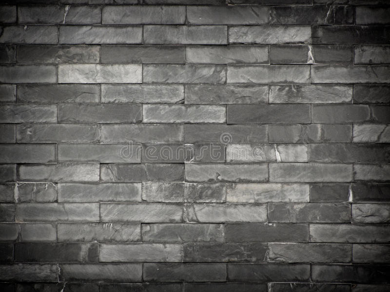 Download Black brick wall 1. stock image. Image of background - 19144623