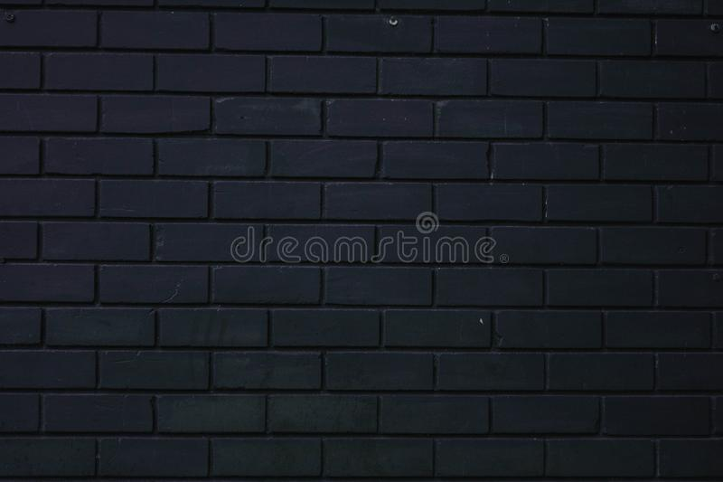 black brick wall abstract photo of wall texture royalty free stock photography