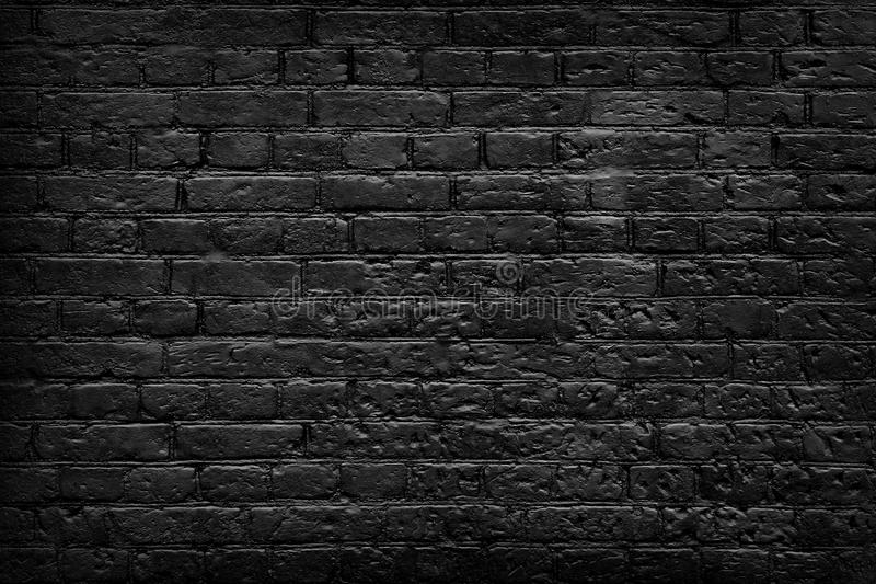 Dark brick wall texture stock photo. Image of pattern ...