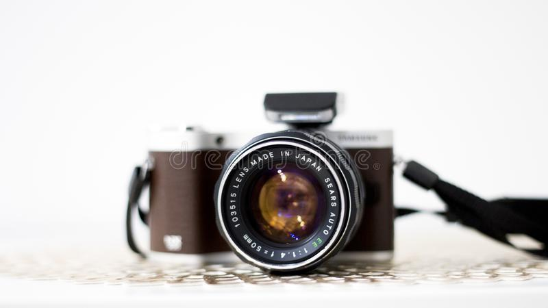 Black And Brown Dslr Camera Free Public Domain Cc0 Image