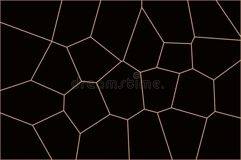 Black and brown spider design texture wallpaper stock illustration