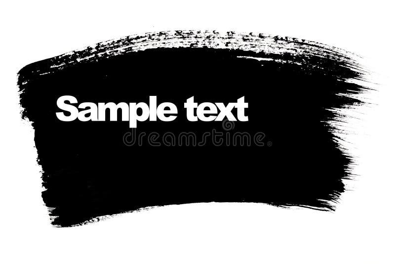 Download Black brush stroke stock image. Image of stain, decoration - 13995857