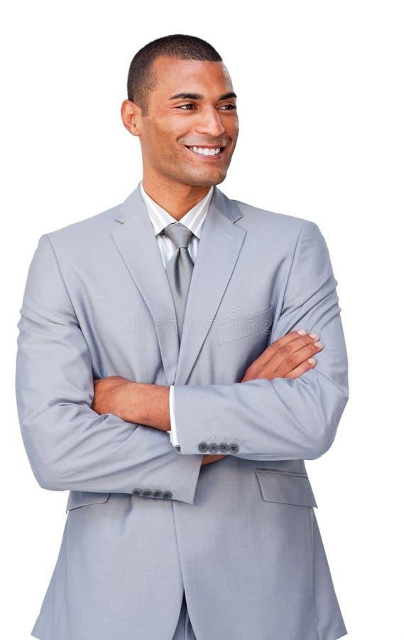 Download A black buisnessman stock image. Image of dressed, businessman - 12211667