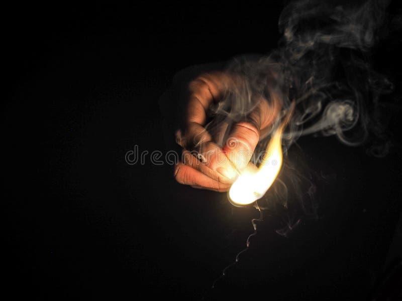Black, Burn, Burning stock image