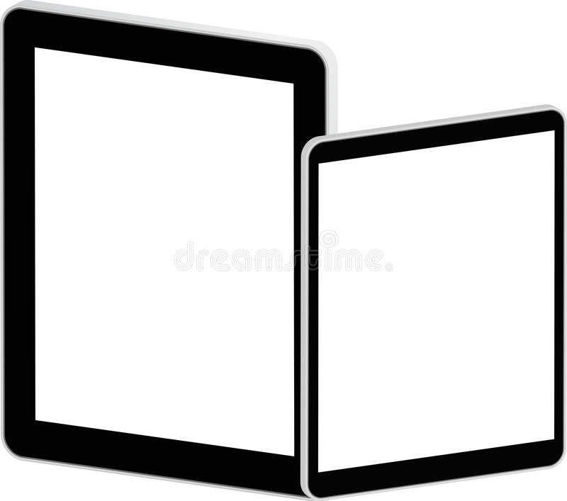 Black Business Tablets stock images