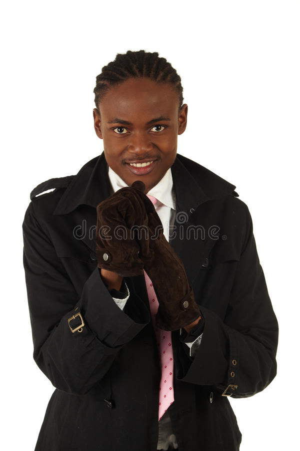 Download Black Businessman Stock Photography - Image: 10554432