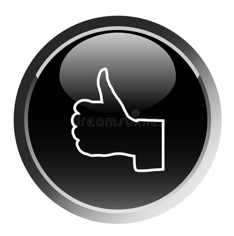 black button ok бесплатная иллюстрация