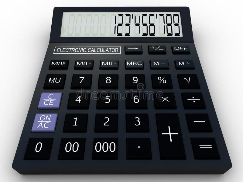 Black Calculator Stock Illustrations – 10,549 Black