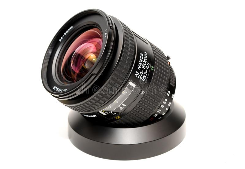 Black Camera Lens royalty free stock photo