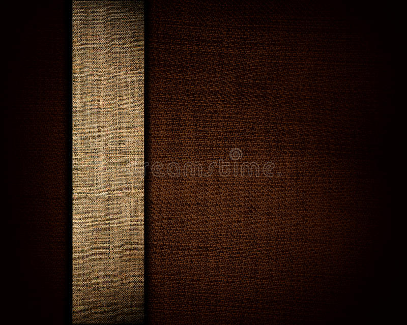 Download Black Canvas Texture And Beige Strip As Background Stock Photo - Image of effect, background: 24049894