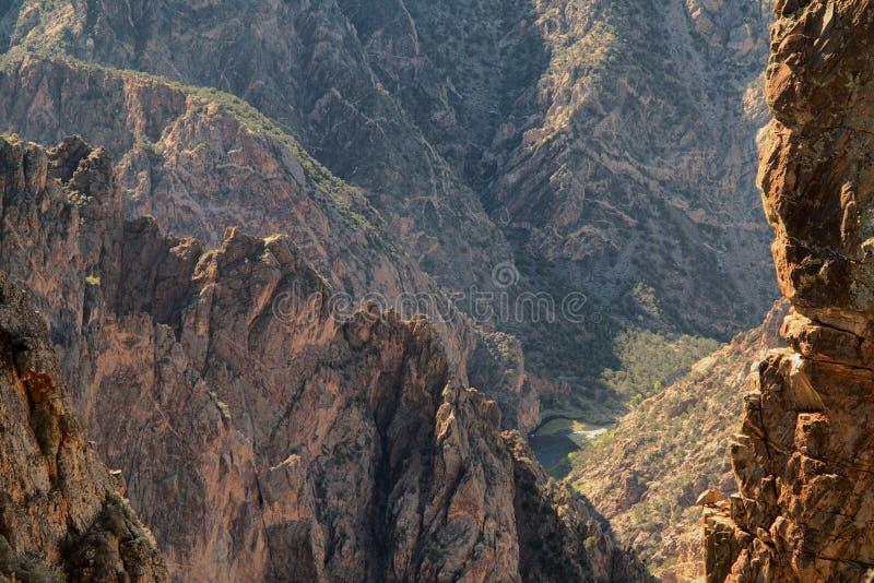 Black Canyon royalty free stock photography