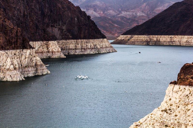 black canyon dam hoover towers στοκ εικόνες με δικαίωμα ελεύθερης χρήσης