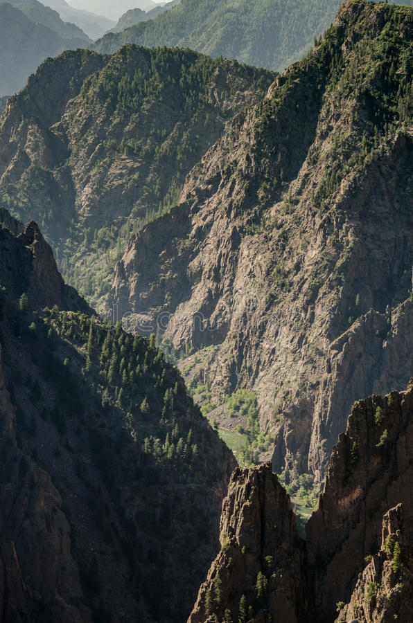 Black Canyon of the Gunnison royalty free stock photography