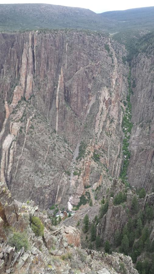 Black Canyon Vertical royalty free stock photography