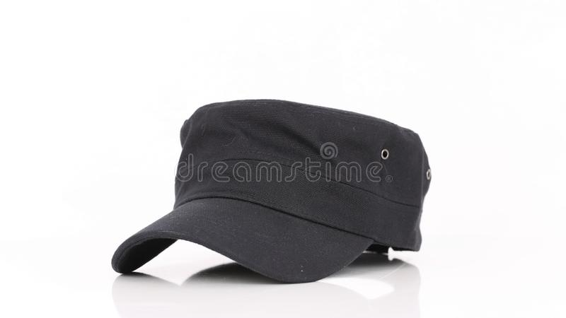 Black cap waiting for you. royalty free stock photos