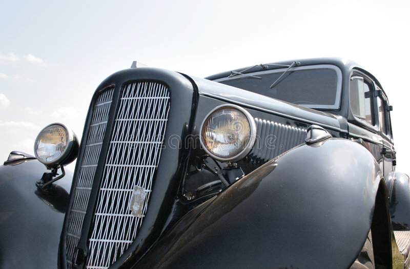 Black car 1930s stock photos