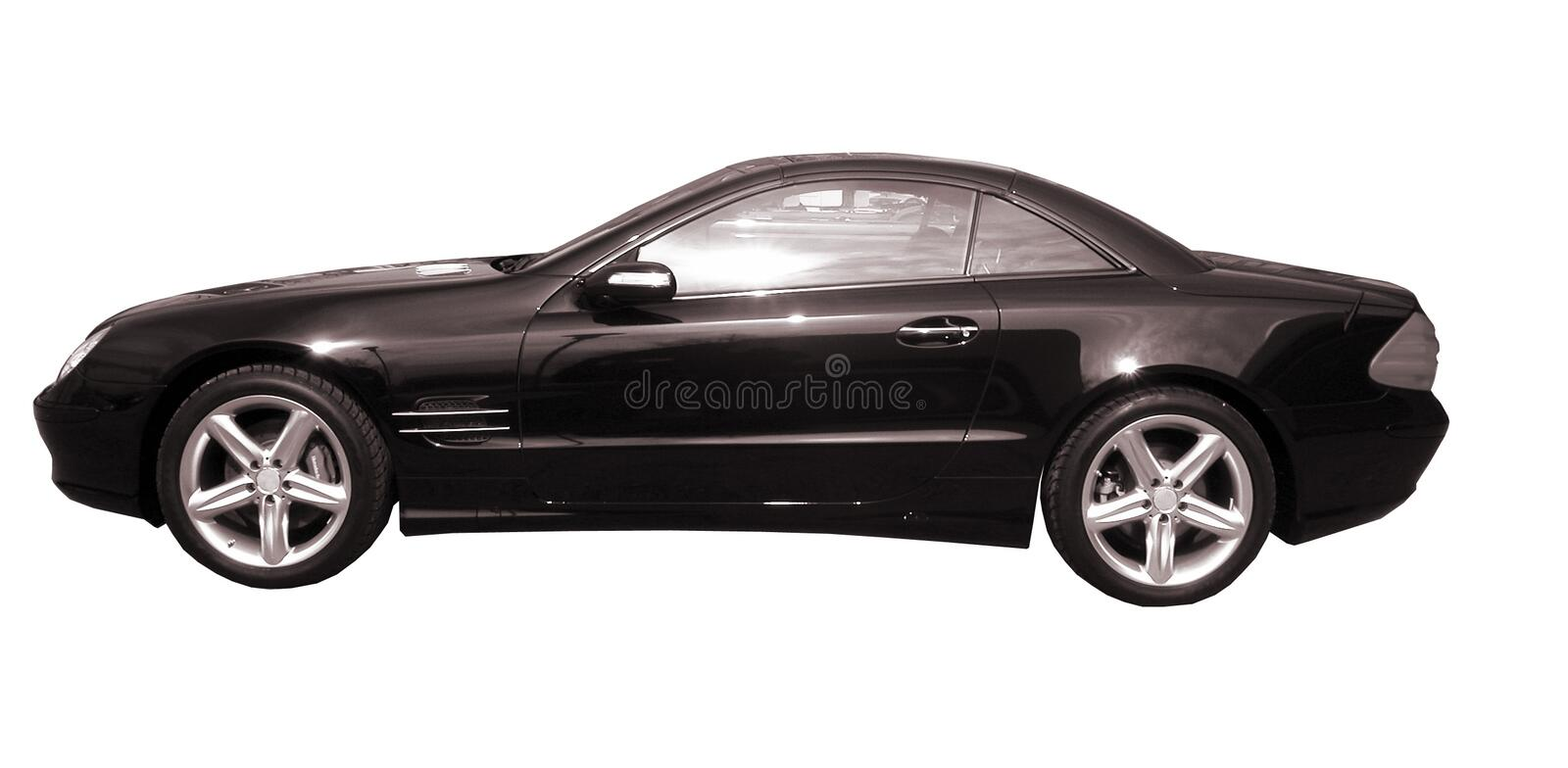 Black car stock image