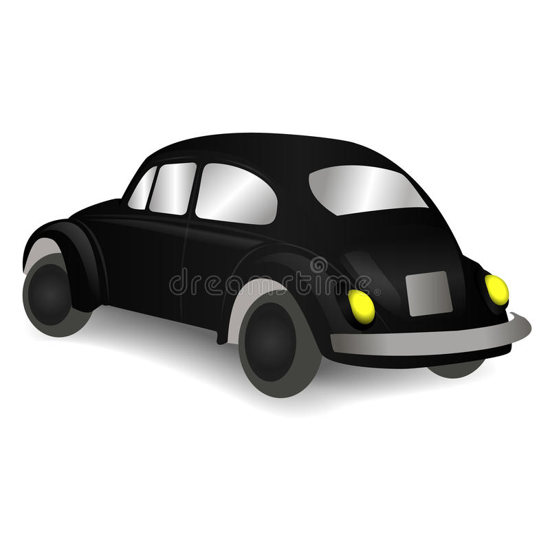 Black car stock photo