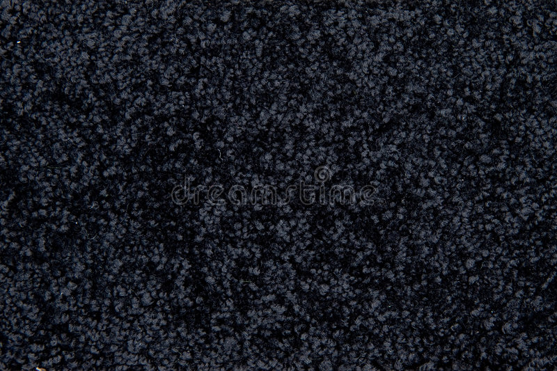 Black carpet texture stock photography