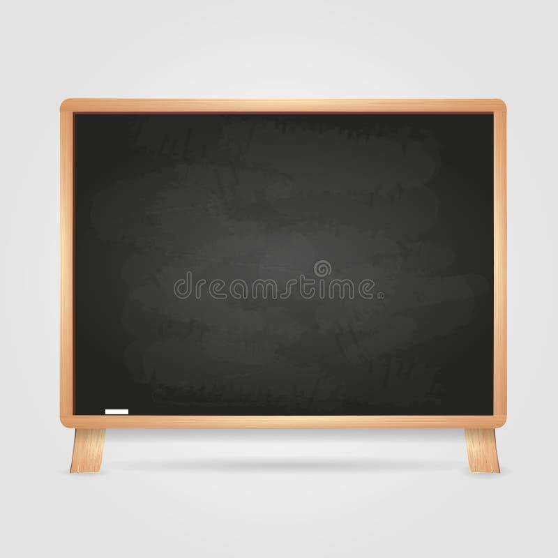 Black chalk board royalty free illustration