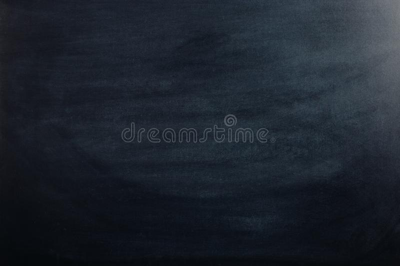 Black chalk board, blank for text or background for a school theme stock images
