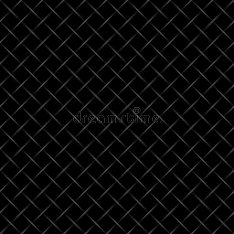 Black checkered wired fence background. vector illustration