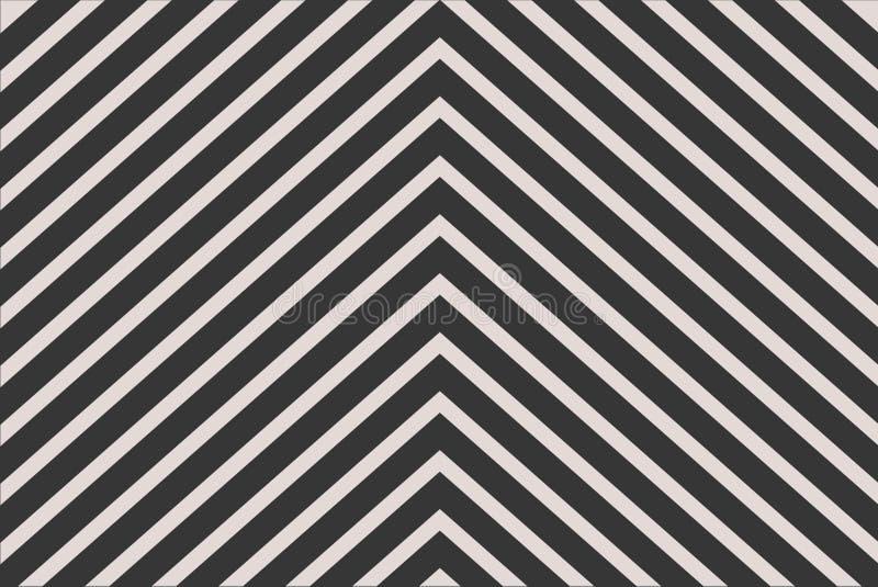 Black chevron stripe pattern for background stock image